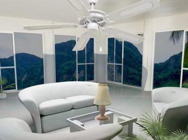 พัดลมเพดานใหม่